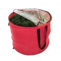 Buy cheap Chistmas series Premium Christmas Pop-Up Storage Bag with Clear View Top Window from wholesalers