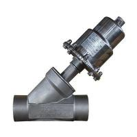 China Angle Seat Valve Y type stainless steel angle seat valve on sale