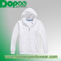 China 500 g inverted cashmere zip sweater wholesale custom blank hoodies man and woman DPHJ041 on sale