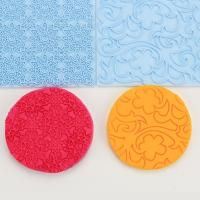 Buy cheap HB0574bolang Cake Decoration Tools leaf&flower Fondant Impression Mat from Wholesalers