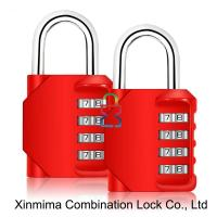 Buy cheap 8023-4L red resettable combination lock from Wholesalers