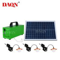 Buy cheap Wholesale Outdoor Portable Solar Panel System from wholesalers